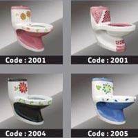 Designer One Piece Toilet 02