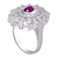 Ladies Silver Ring (SR009)