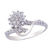 Ladies Silver Ring (SR018)