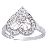 Ladies Silver Ring (SR019)
