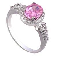 Ladies Silver Ring (SR020)