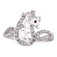 Ladies Silver Ring (SR028)