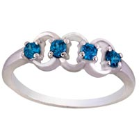 Ladies Silver Ring (SR029)