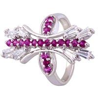 Ladies Silver Ring (SR039)
