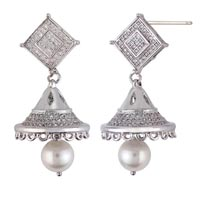 Silver Earrings 04