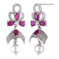 Silver Earrings 05