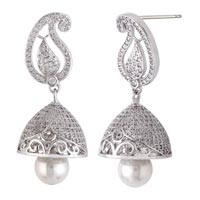 Silver Earrings 08