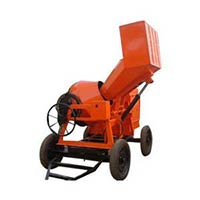 Hydraulic Operated Concrete Mixer