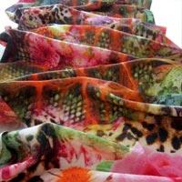 Digital Printed Wool Shawl 04