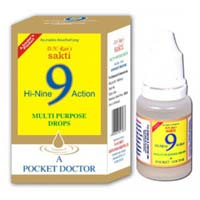D.N.Rao's Sakti Hi-Nine Action Multipurpose Drops