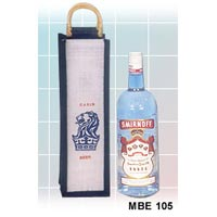 Jute Wine Bottle Bag - 03