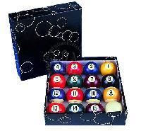 China Pool Black Box Balls