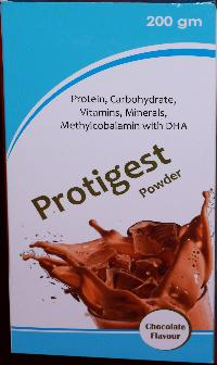 Chocolate Flavored Protein Powder