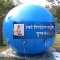 Advertising Sky Balloons (Railway Reservation Counter)