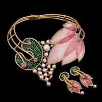 Designer Gold Necklace Set 05