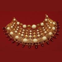 Designer Gold Necklace Set 07