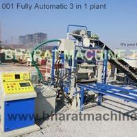 Fully Automatic Bricks, Block & Inter-locking Paver Block Making Plant