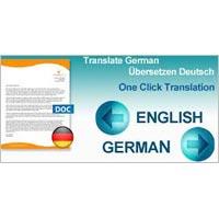 English To German Language Translation