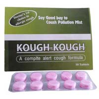 Cetrizine HCL, Phenylephrine HCL, Paracetamol Tablet