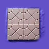 Flower Type Chequered Tile