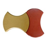 Round Dumbbell Interlocking Tiles 01