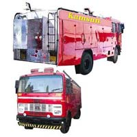 Foam Cum DCP Fire Tender