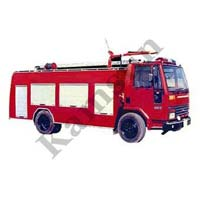 Water Cum Foam Fire Tender