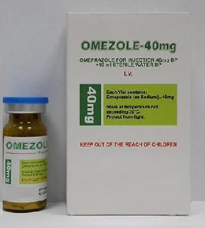 Omeprazole 40 mg Injection
