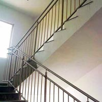 Mild Steel Stair Railing 02