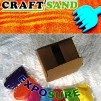 Coloured Quartz Play Sand