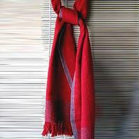 Herbal Dyed Woollen Stoles