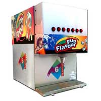 6 Flavor Soda Vending Machine