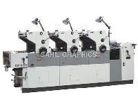 Three Colour Non Woven Bag Printing Machine
