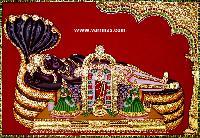 Anantha Padmanabha Tanjore Painting (10001)