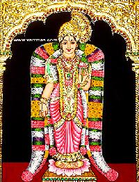 Andal Tanjore Painting (10018)