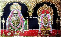 Annamalai Thayar Tanjore Painting (10034)