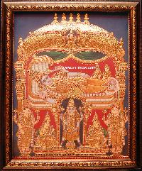 Antique Finish Tanjore Painting (10001)