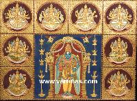 Antique Finish Tanjore Painting (10019)