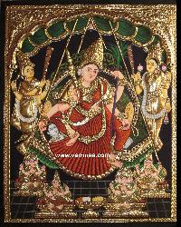 Antique Finish Tanjore Painting (10022)