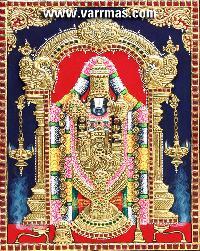 Balaji Tanjore Painting (10069)