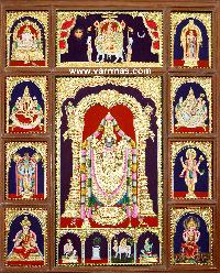 Customised Tanjore Painting (10285)