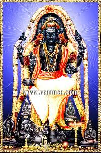 Dakshinamurthy Tanjore Painting (10130)