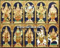 Dasavatharam Tanjore Painting (10133)