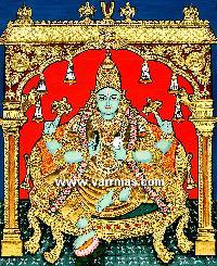 Dhanvantari Tanjore Painting (10202)