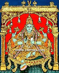 Dhanvantari Tanjore Paintings