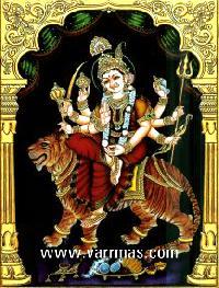 Durga Tanjore Painting (10212)