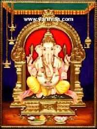 Ganesha Tanjore Painting (10268)