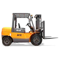 5 Ton Diesel Operated Forklift Truck