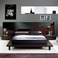 Designer Wooden Bed - 03