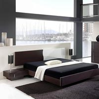 Designer Wooden Bed - 06